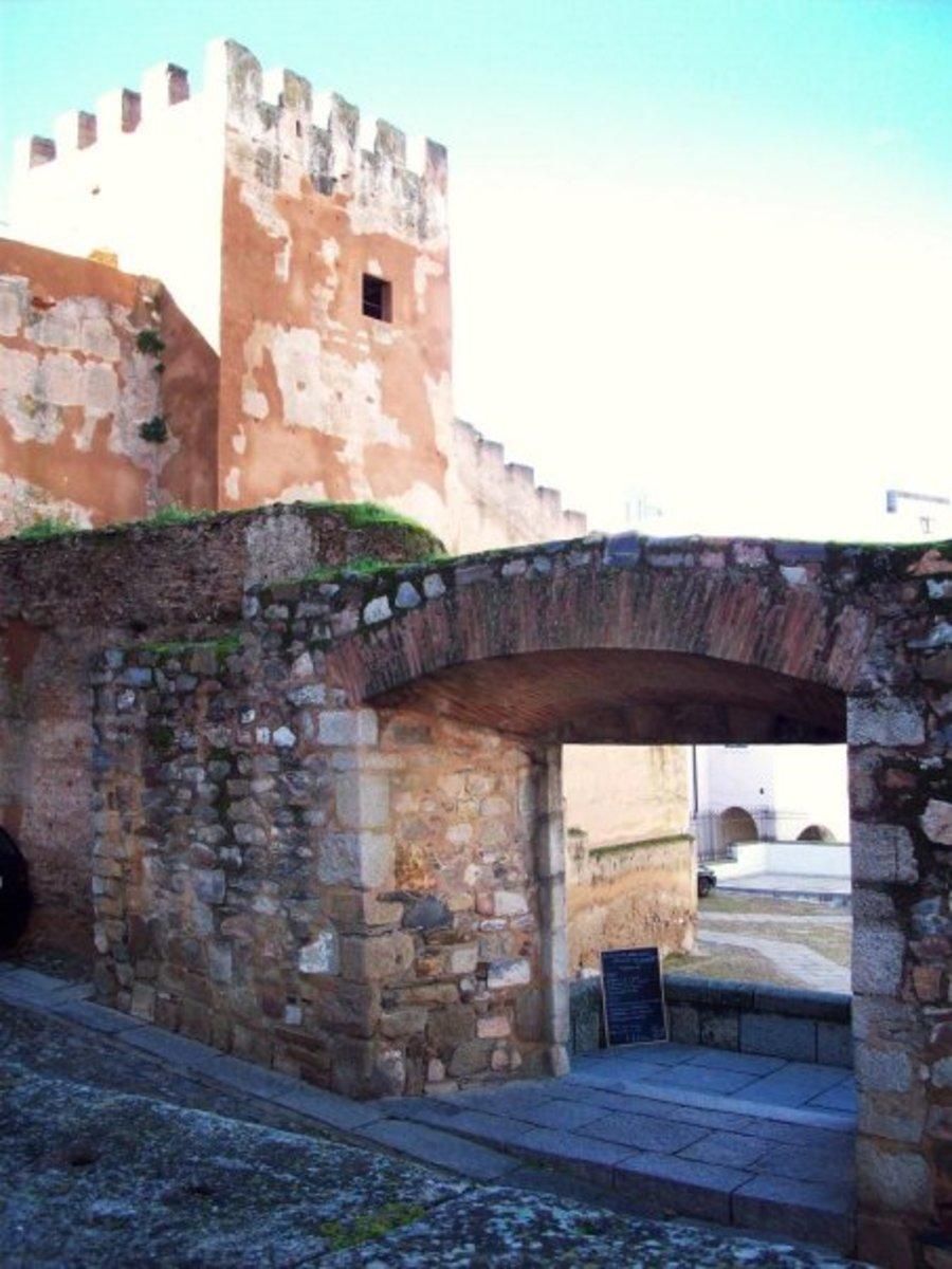 Parte Antigua de Cáceres