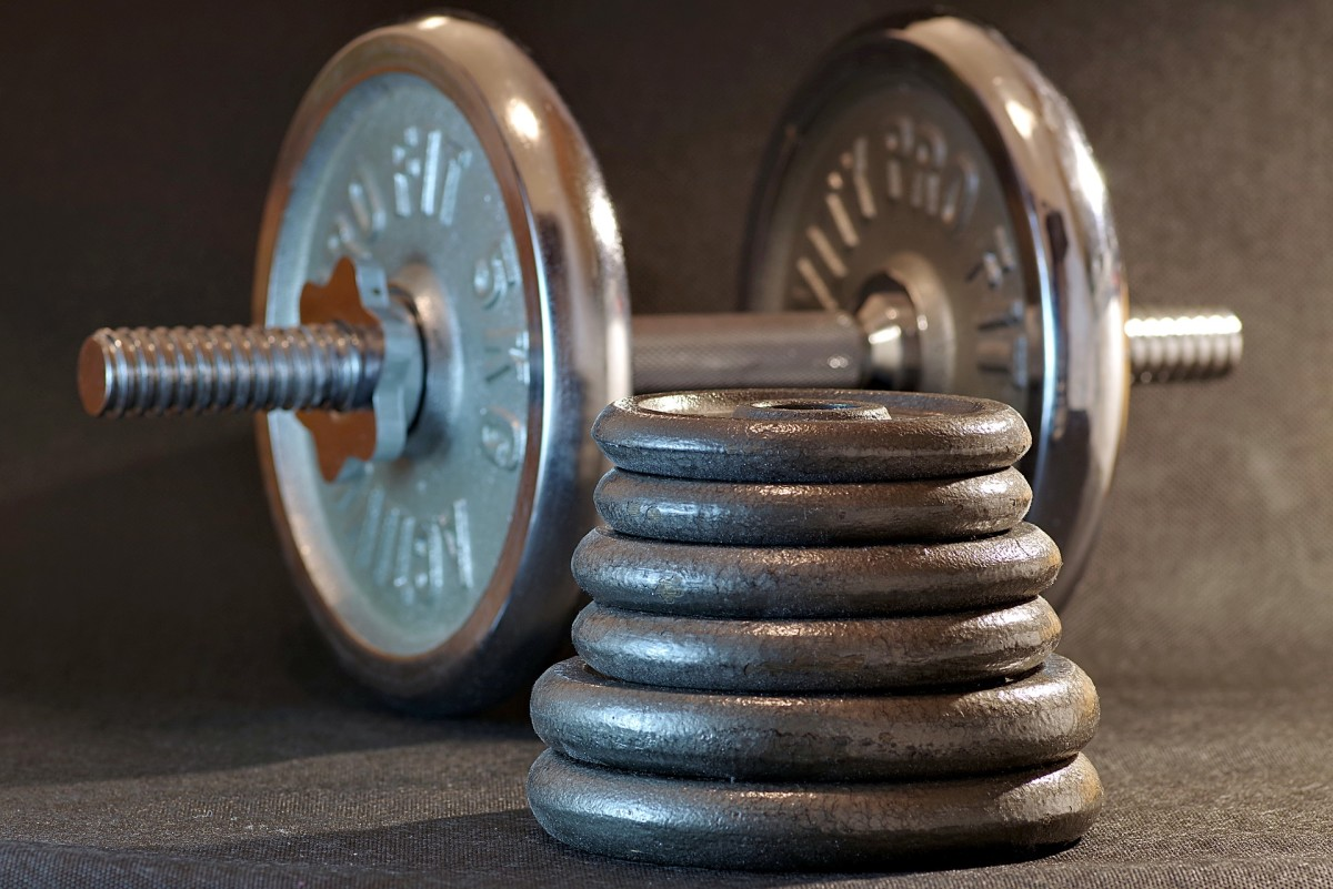 Dumbbells are the most versatile piece of exercise equipment available