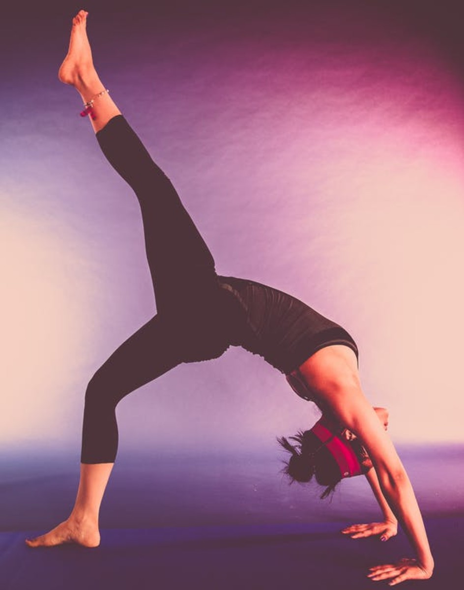 Yoga can greatly improve your flexibility.
