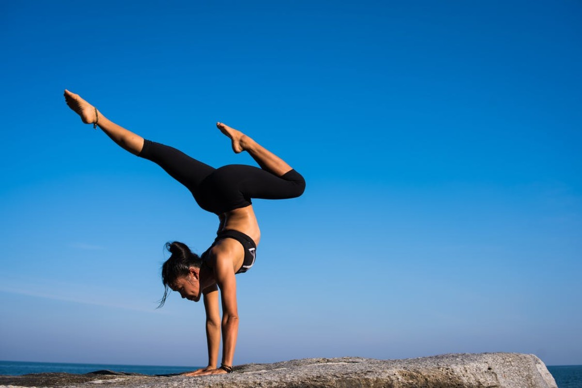 Yoga can strengthen your muscles.