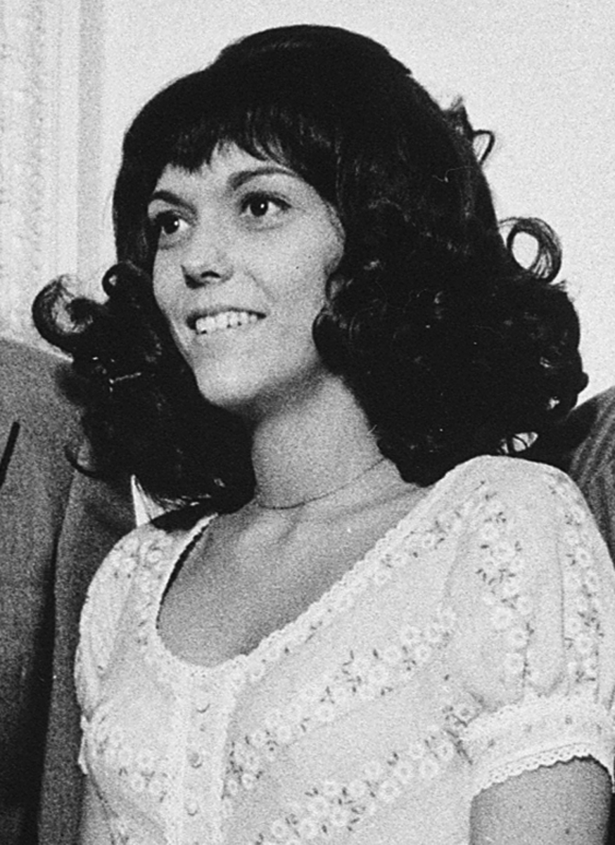 The late Karen Carpenter, singer extraordinaire