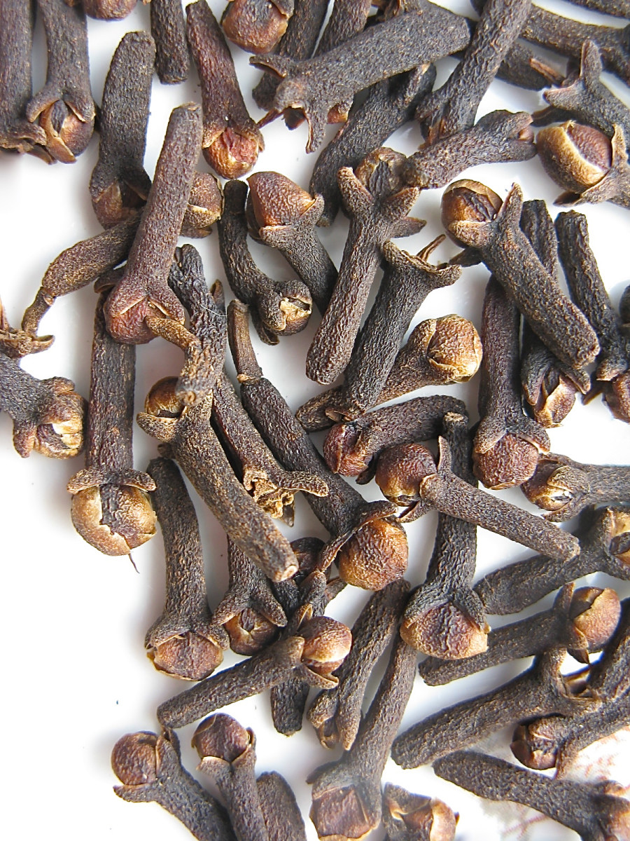 Whole cloves from my kitchen
