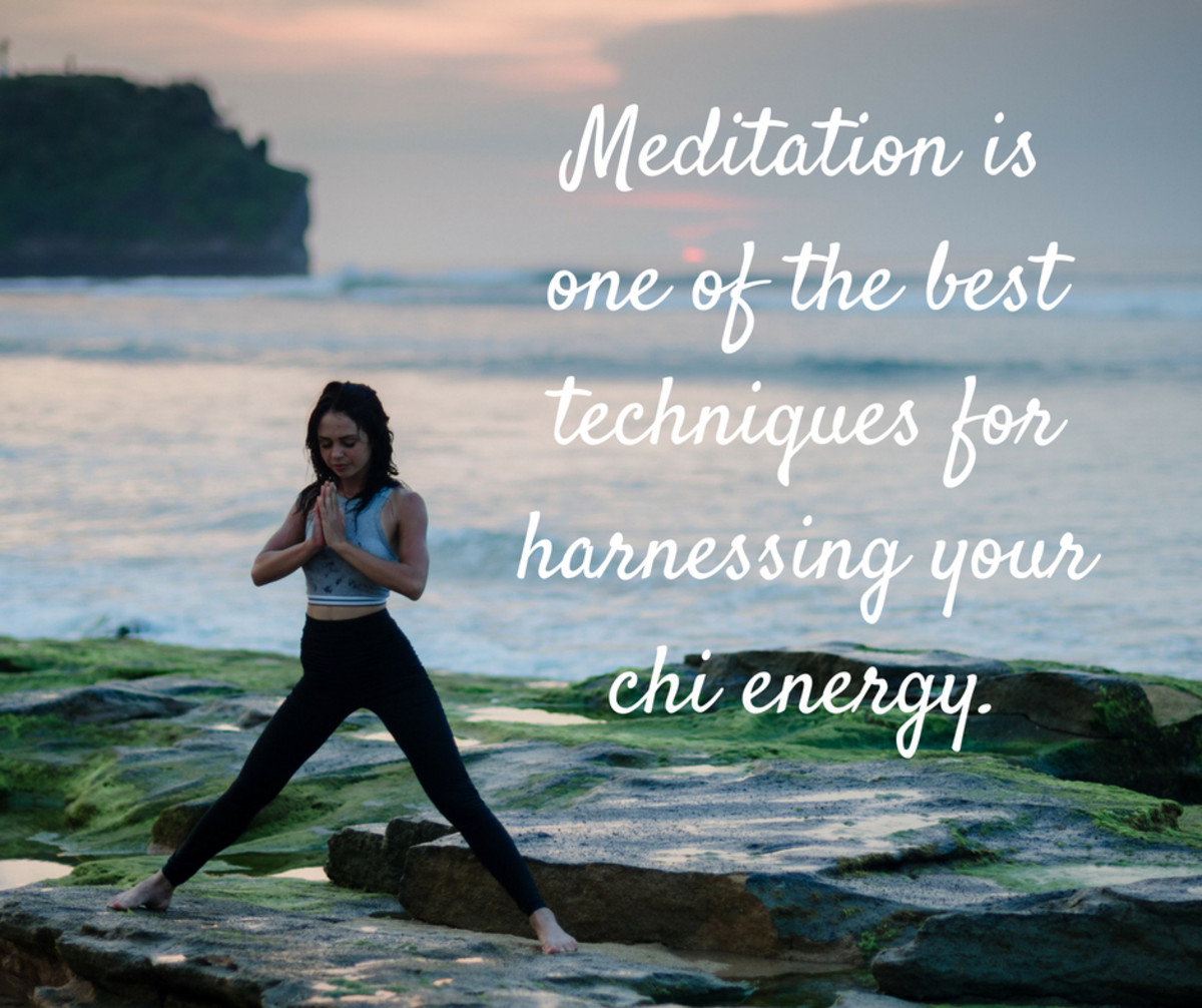 Meditation helps you to relax and unify your body and mind.