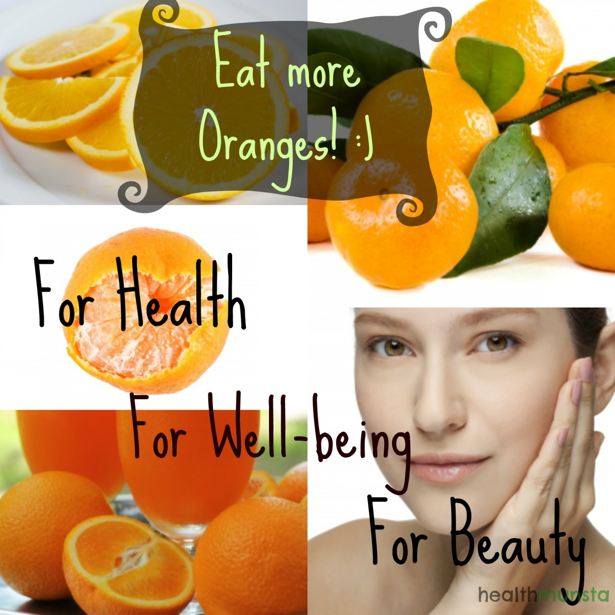 Health Benefits of Oranges, Photo by healthmunsta, All free images courtesy of freedigitalphotos.net.