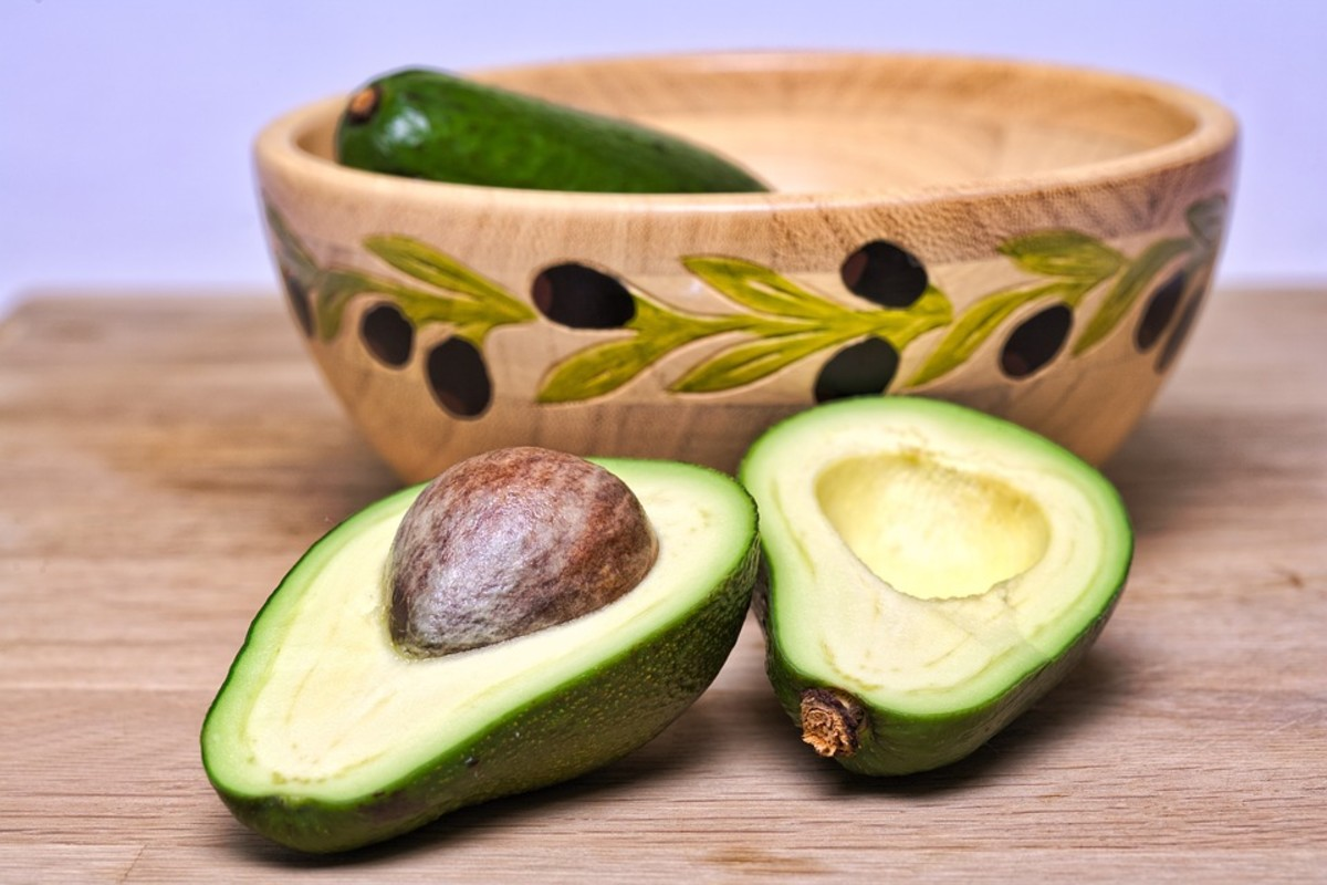 Avocados are a delicious and heart-healthy snack.
