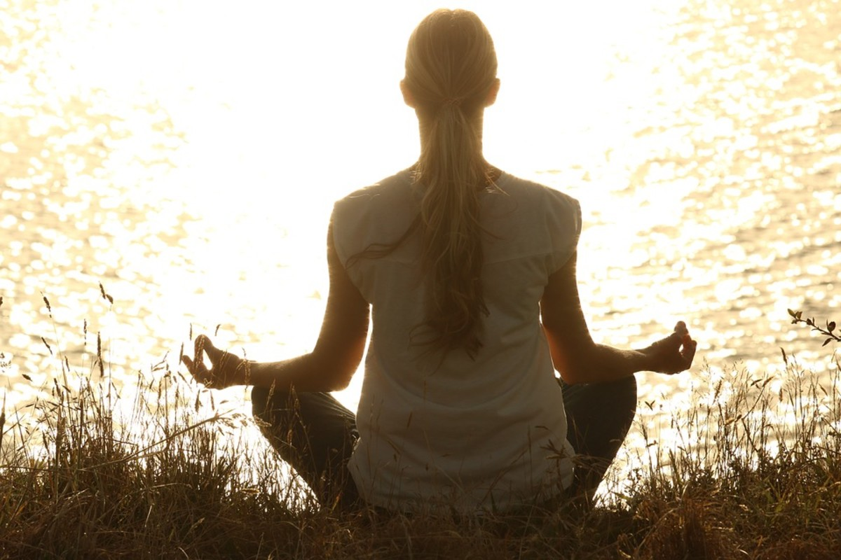 Meditation is a great way to reduce stress and lower your blood pressure.