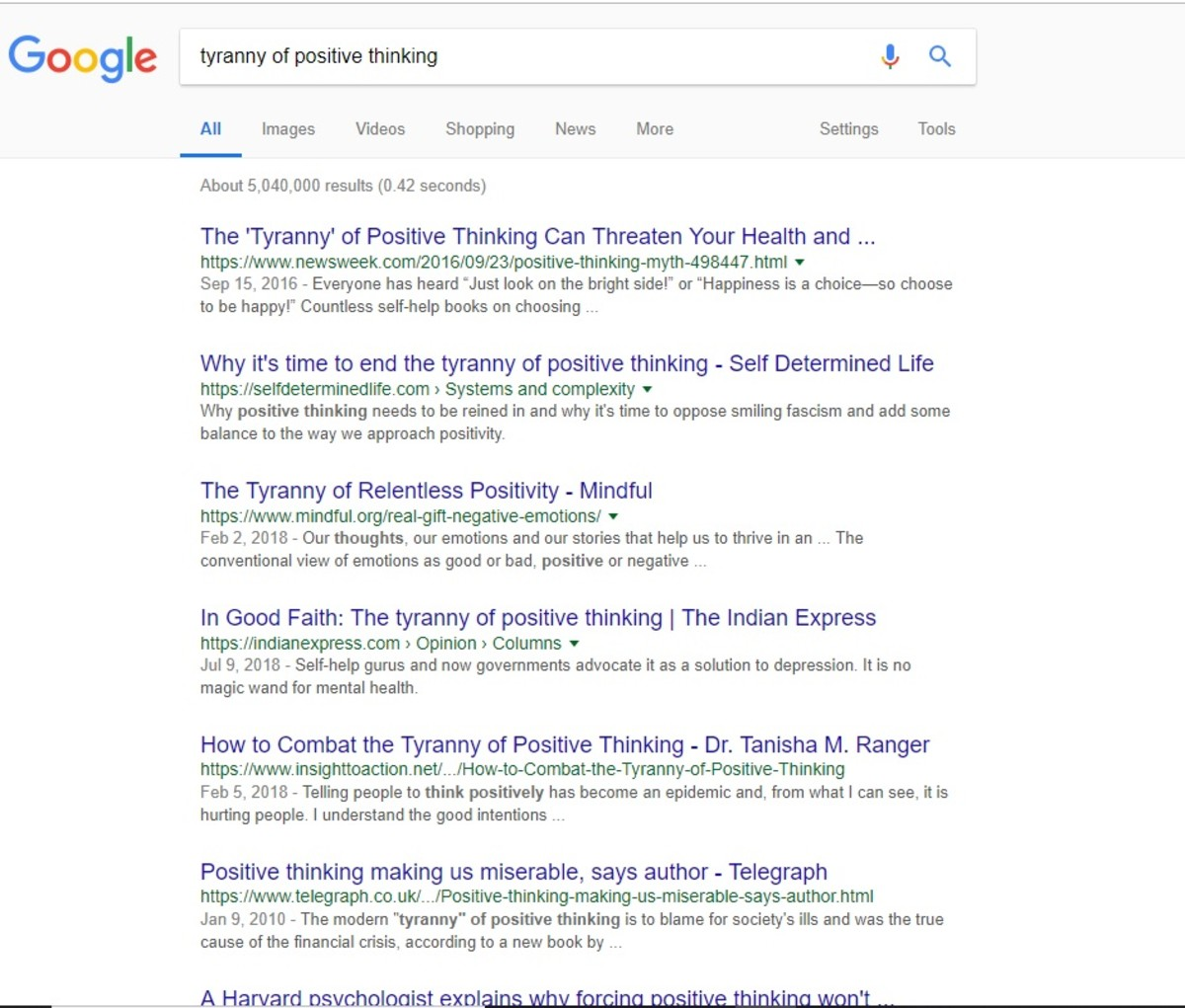 Over 5000,000 results