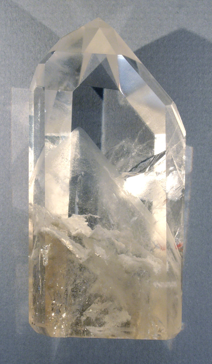 Phantom quartz is a good choice of crystal when working through past traumas.