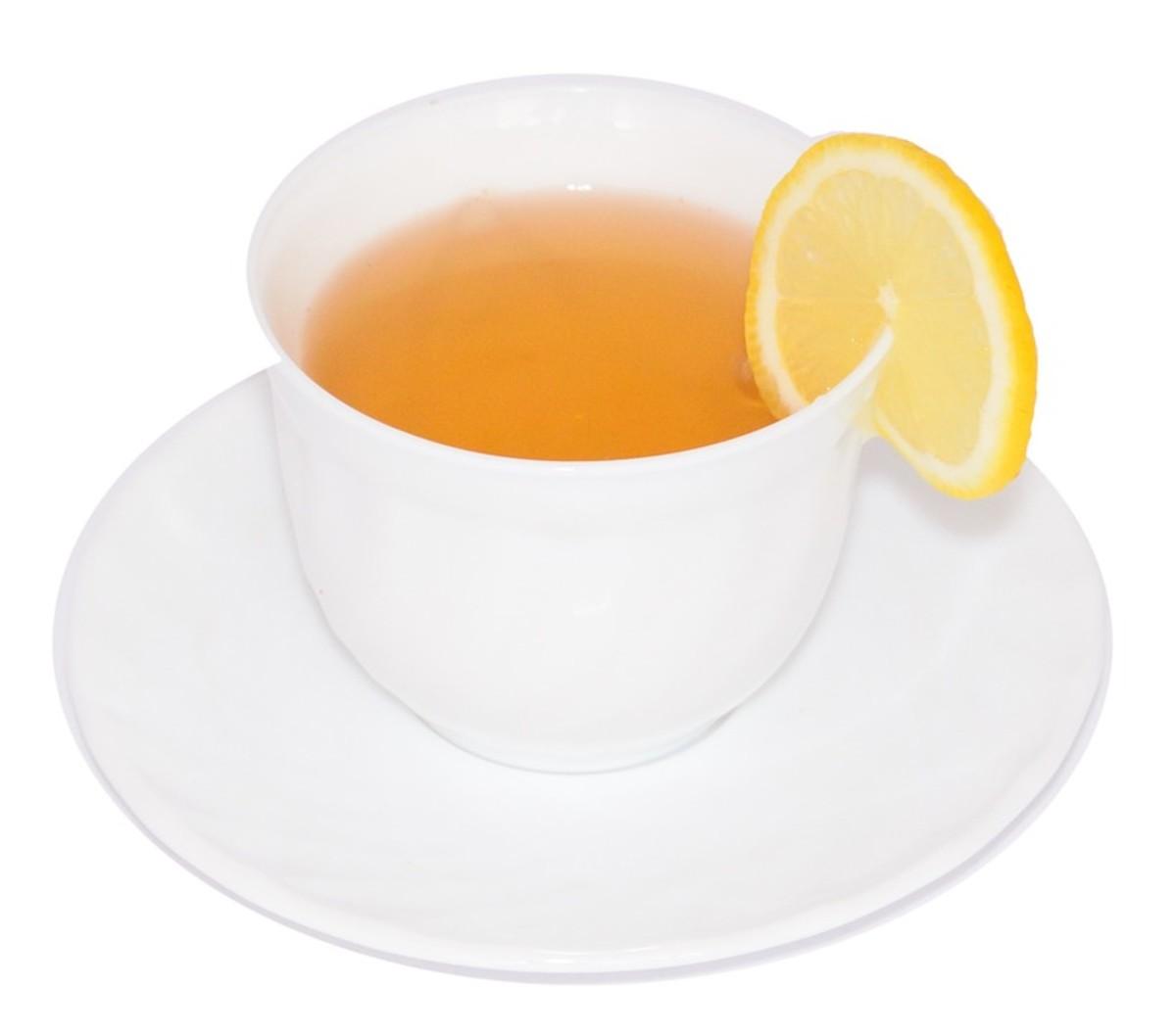 Lemon, Honey, and Cinnamon (or Ginger or Turmeric)