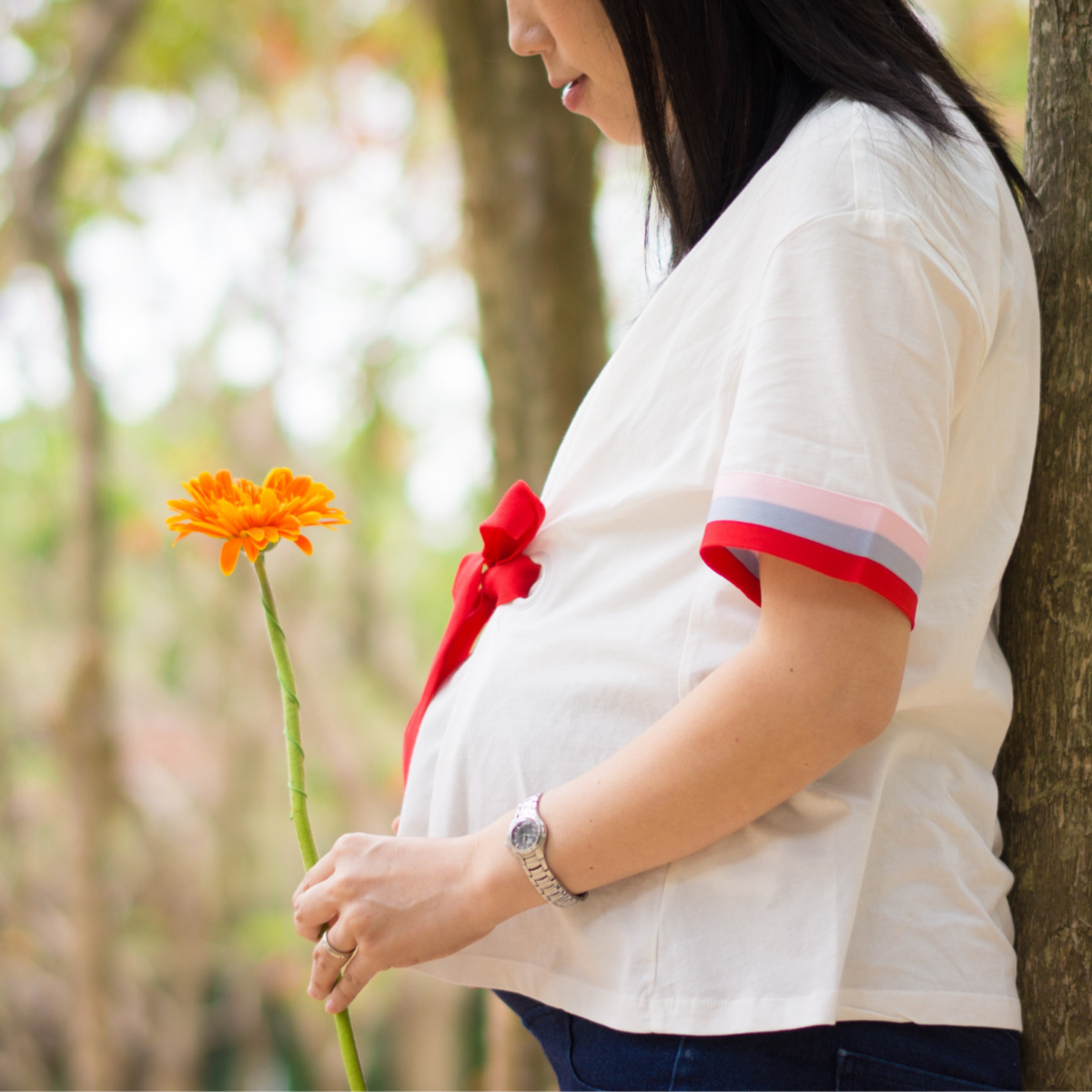 At least half of expecting mothers experience morning sickness during their first trimester.