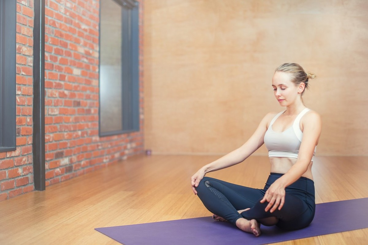 Yoga is known for helping you relax and reduce your anxiety.