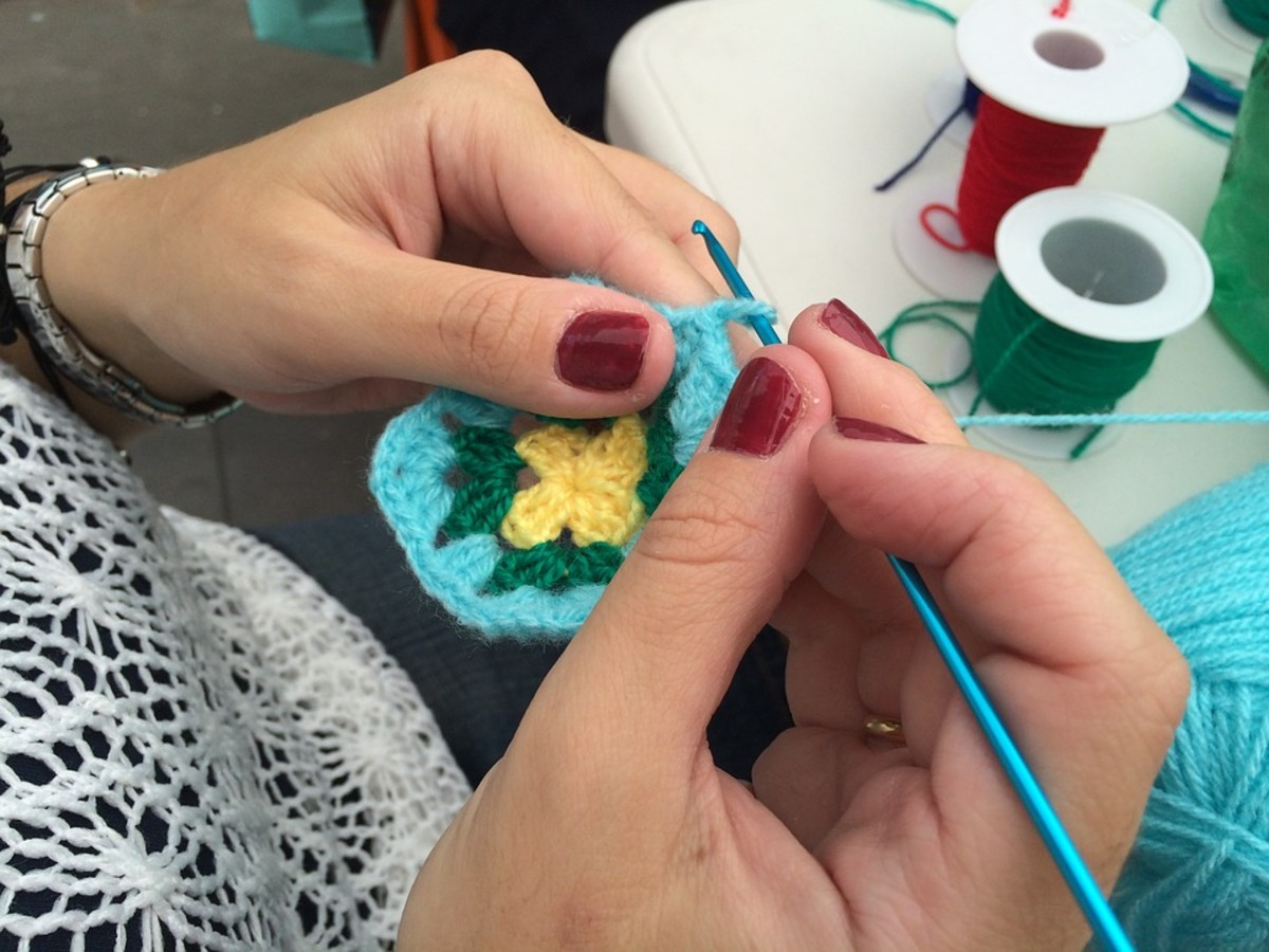 A creative hobby such as crocheting is an effective way to release tension while also lifting your mood.
