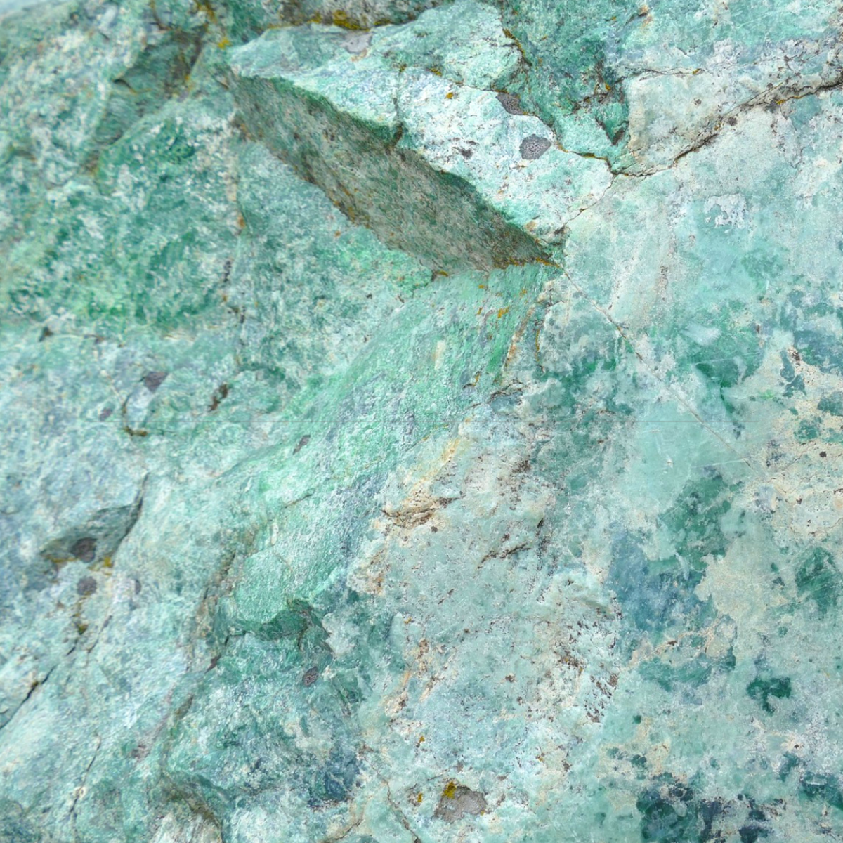Jade is a popular stone used for crystal healing.