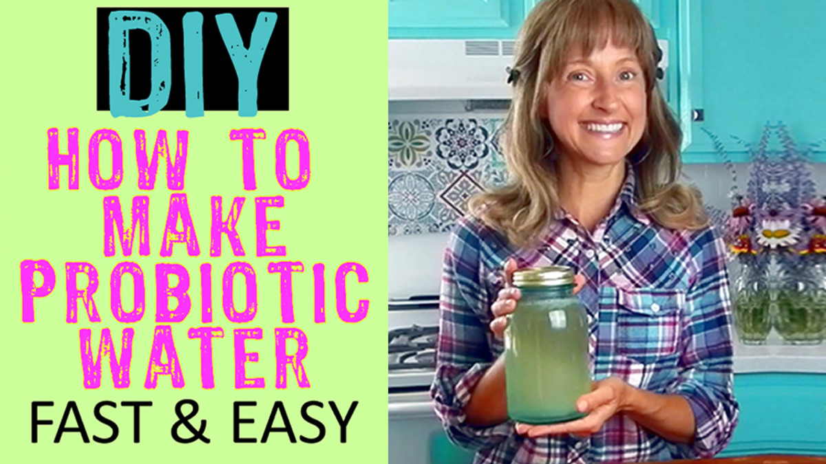 How to Make Probiotic Water at Home Without Kefir