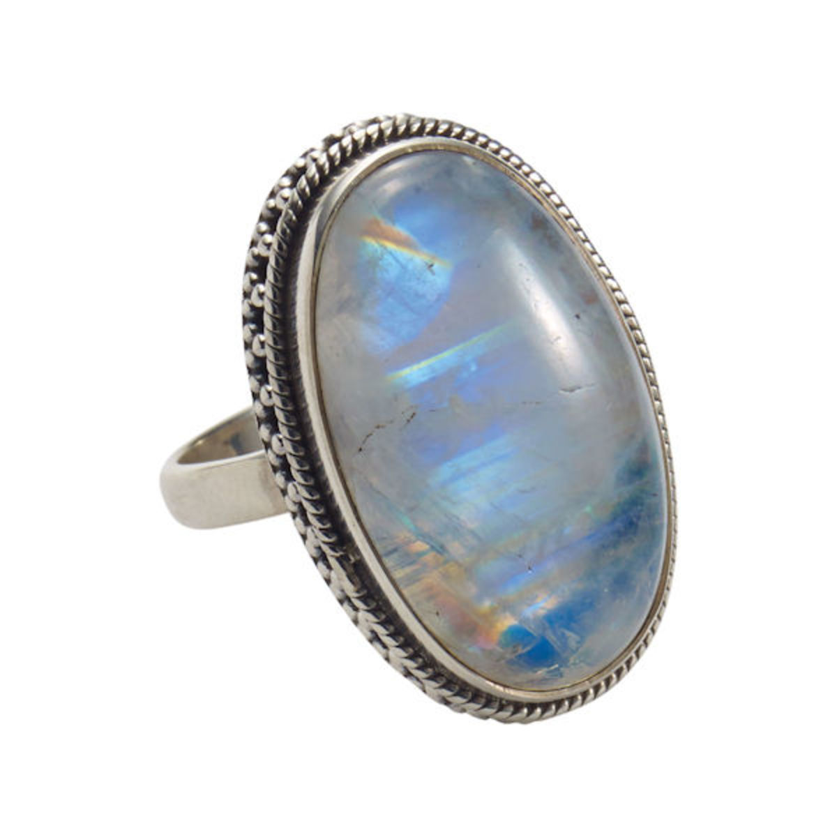 Moonstone is traditionally known as a protective stone that helped travelers.