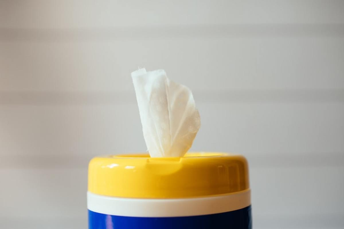 Run out of wipes? Try this instead!