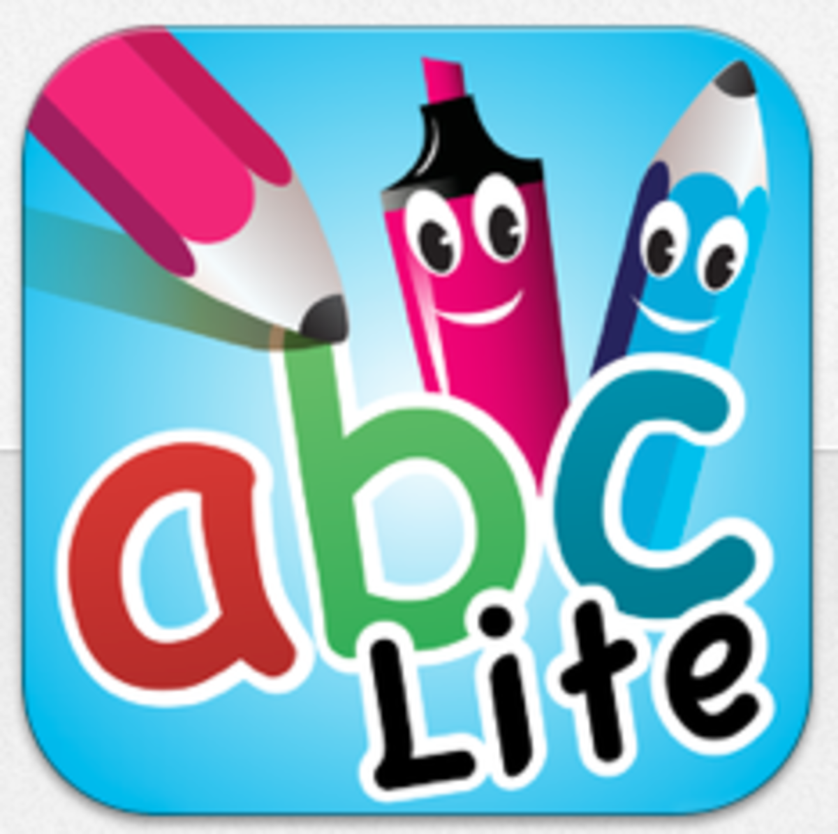 App Icon for abc PocketPhonics Lite