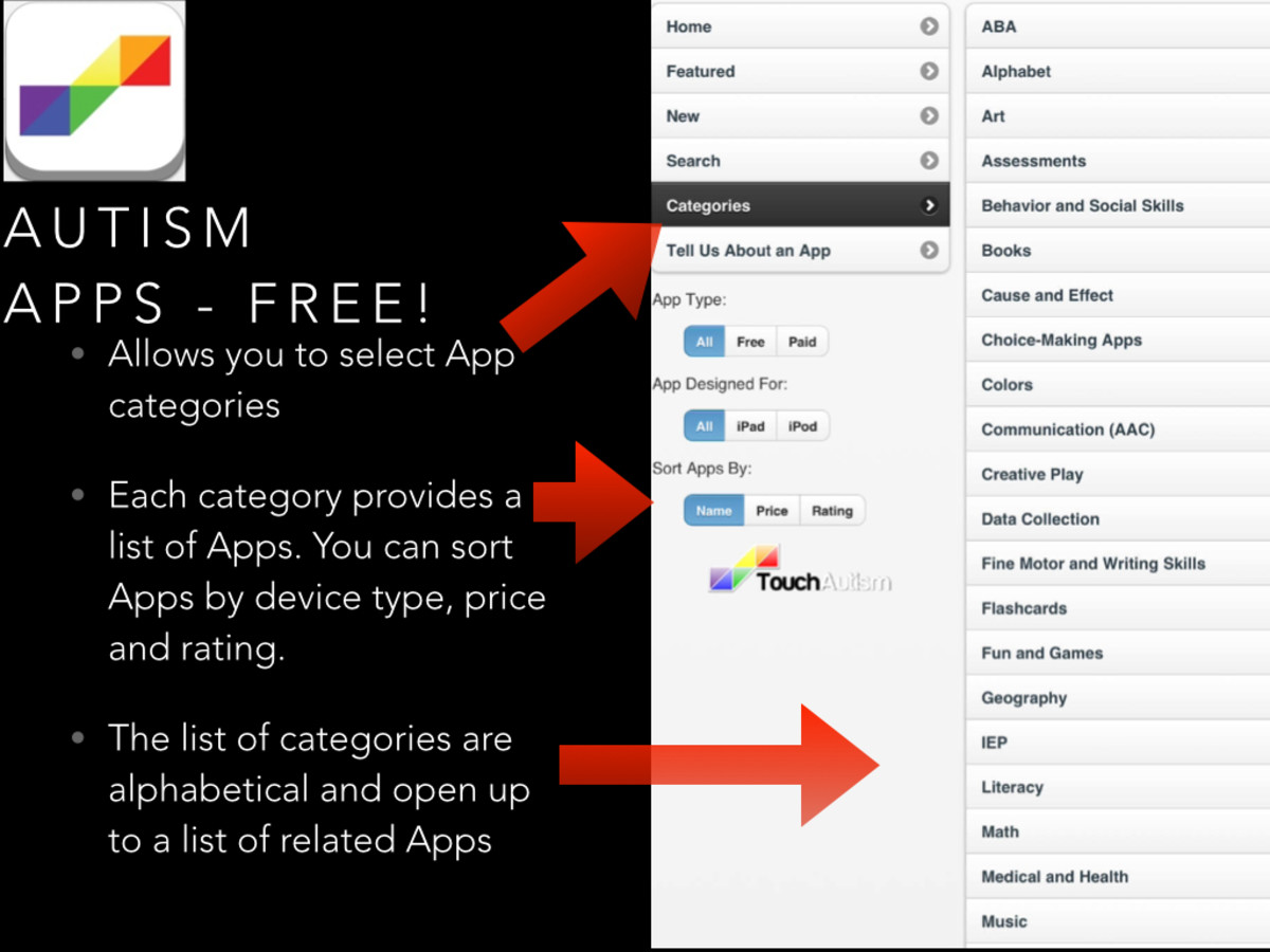 Autism Apps is my all-time favorite app for finding a variety of apps. It is free, too!