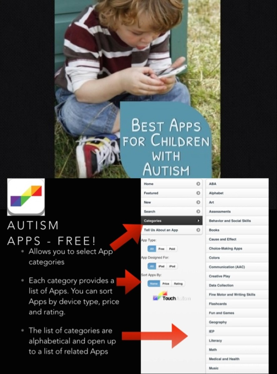Autism Apps offers an effective way of finding just the right App for your child with autism.