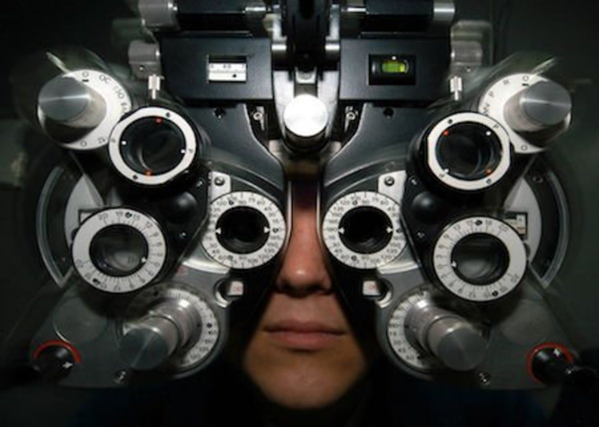 Remember, your eyes are not identical. You may have slightly different problems with each.