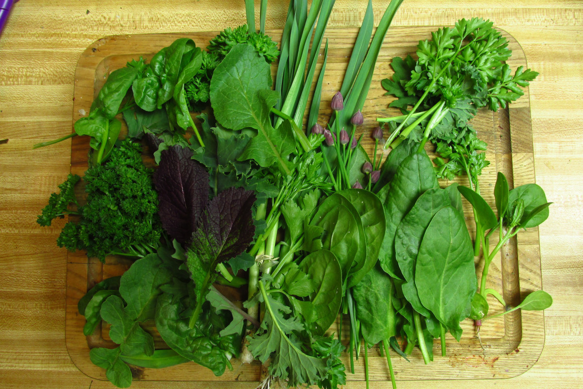 Folate rich vegetables