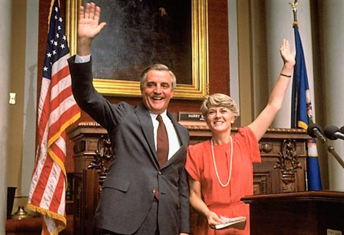 Ferraro was the first female candidate for U.S. Vice President.