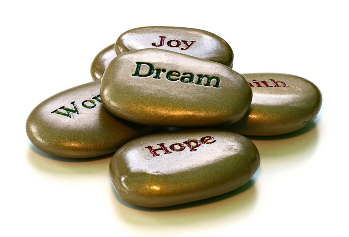 When you have good mental health, you can keep hope alive, and go after your dreams despite the circumstances you face..