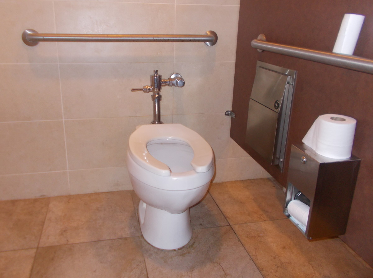 Adding grab bars to areas of your home can help reduce the chance of falling.