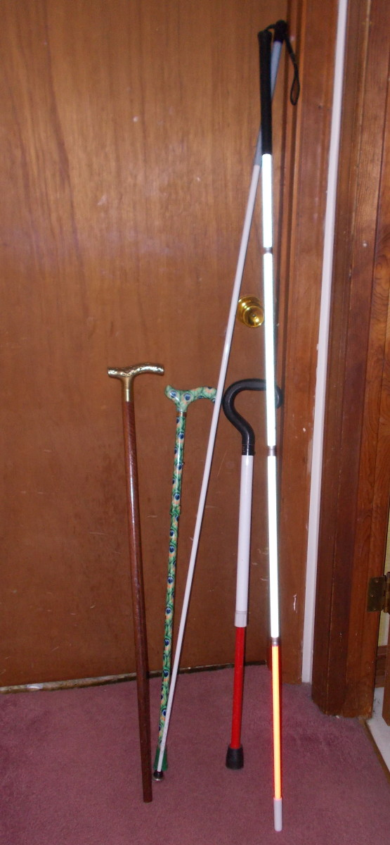 Canes can be used for many tasks based on the needs of the individual