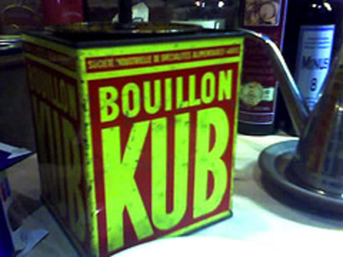 There's No Bull in Bouillon