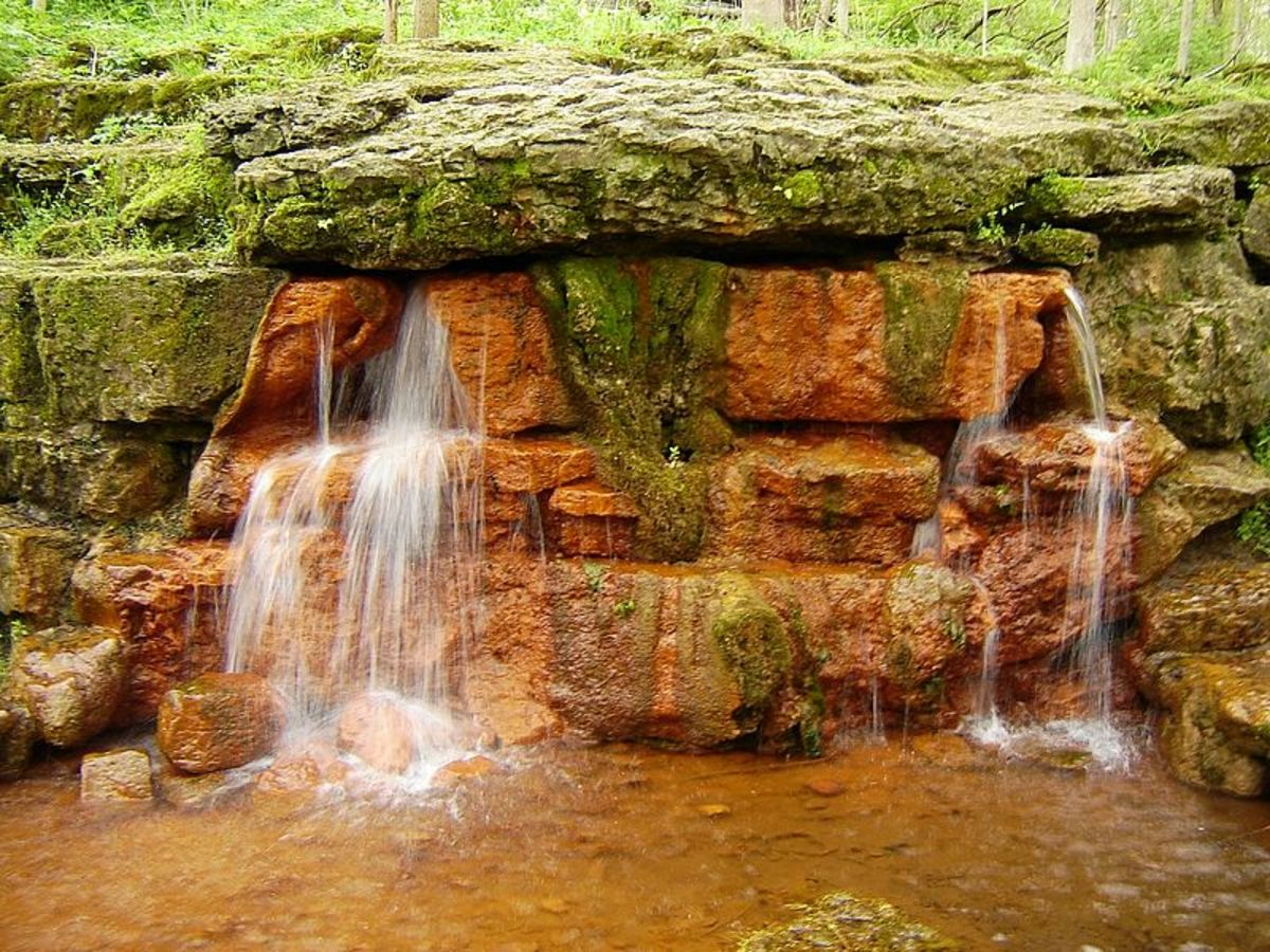 The Glen Helen Springs
