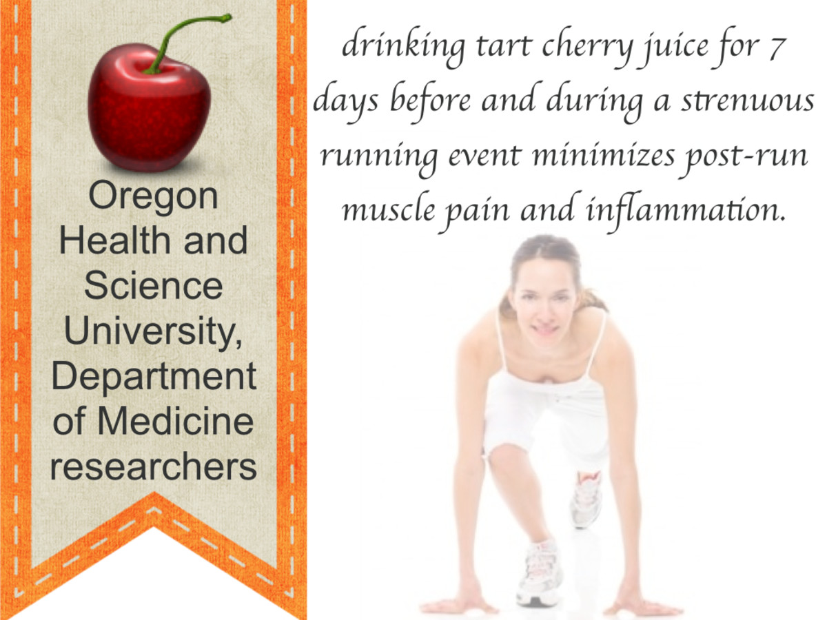 Researchers discovered tart cherry juice minimized exercise-induced muscle damage.