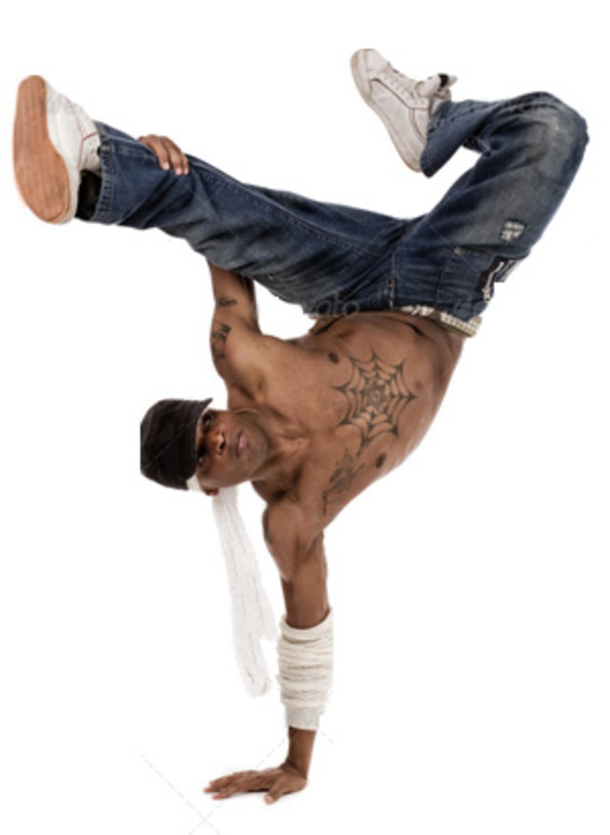 With arms as strong as legs, street dancers have turned dance techniques upside down.