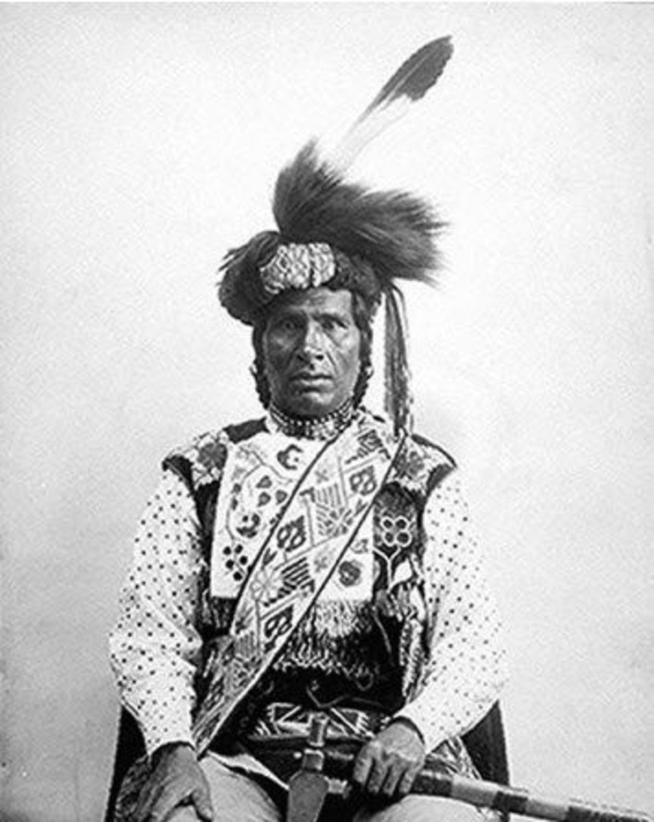 Portrait of One-Called-From-A-Distance, An Ojibway Chief