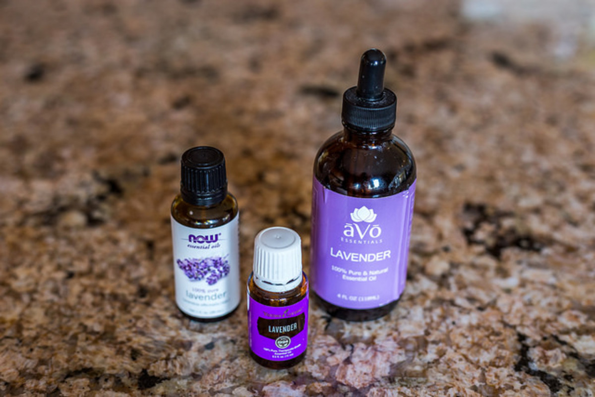 Try lavender essential oil to help with period pains!