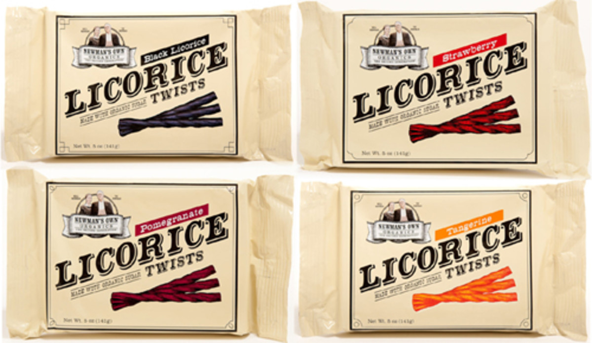 Newman's Licorice Twists