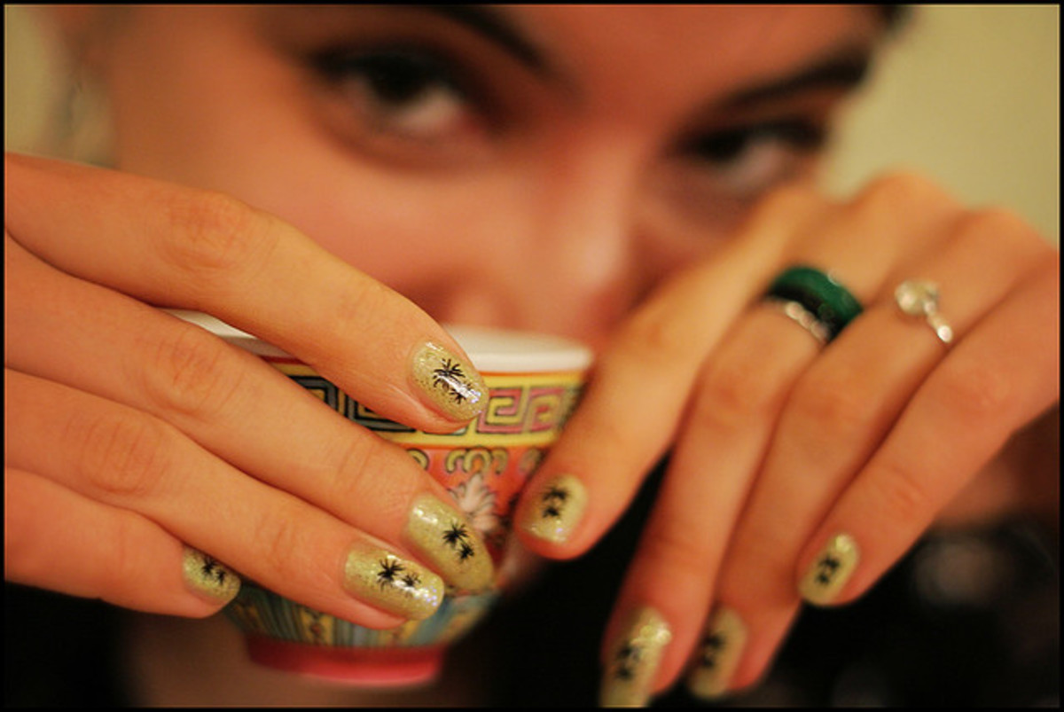 Taking the time to give yourself a manicure once and a while can actually help prevent nail biting.