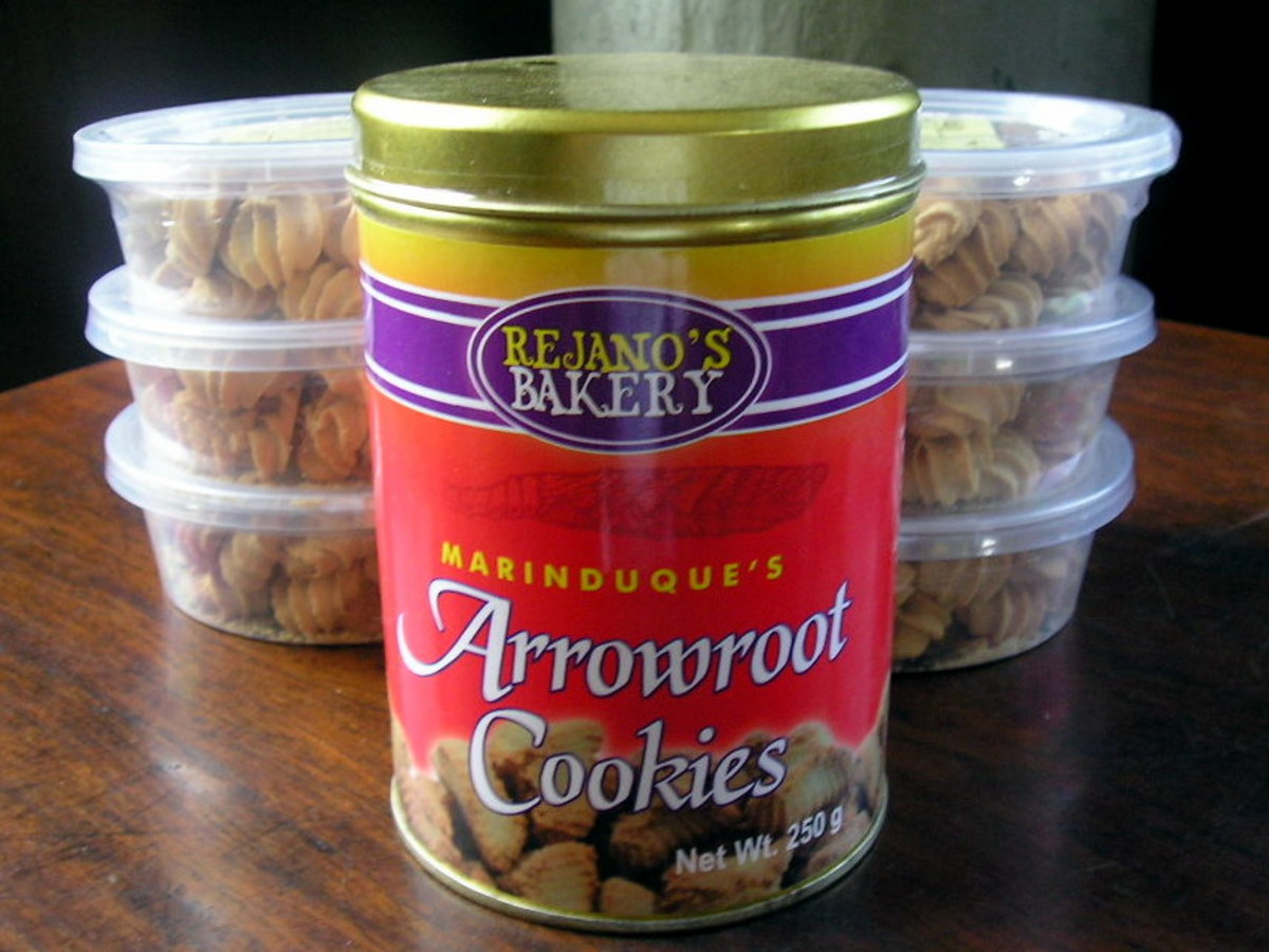 Arrowroot starch is a common ingredient in baked goods.