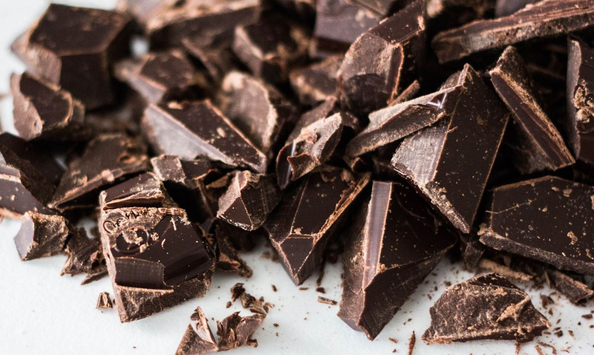 Chocolate is chock-full of antioxidants and caffeine.