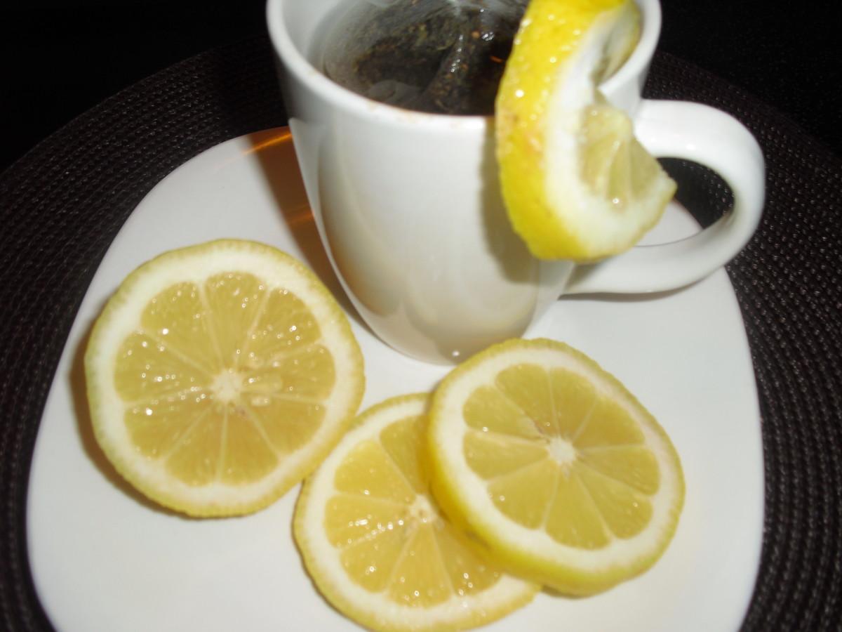 лимонный чай от простуды Лечение простуды Народными способами