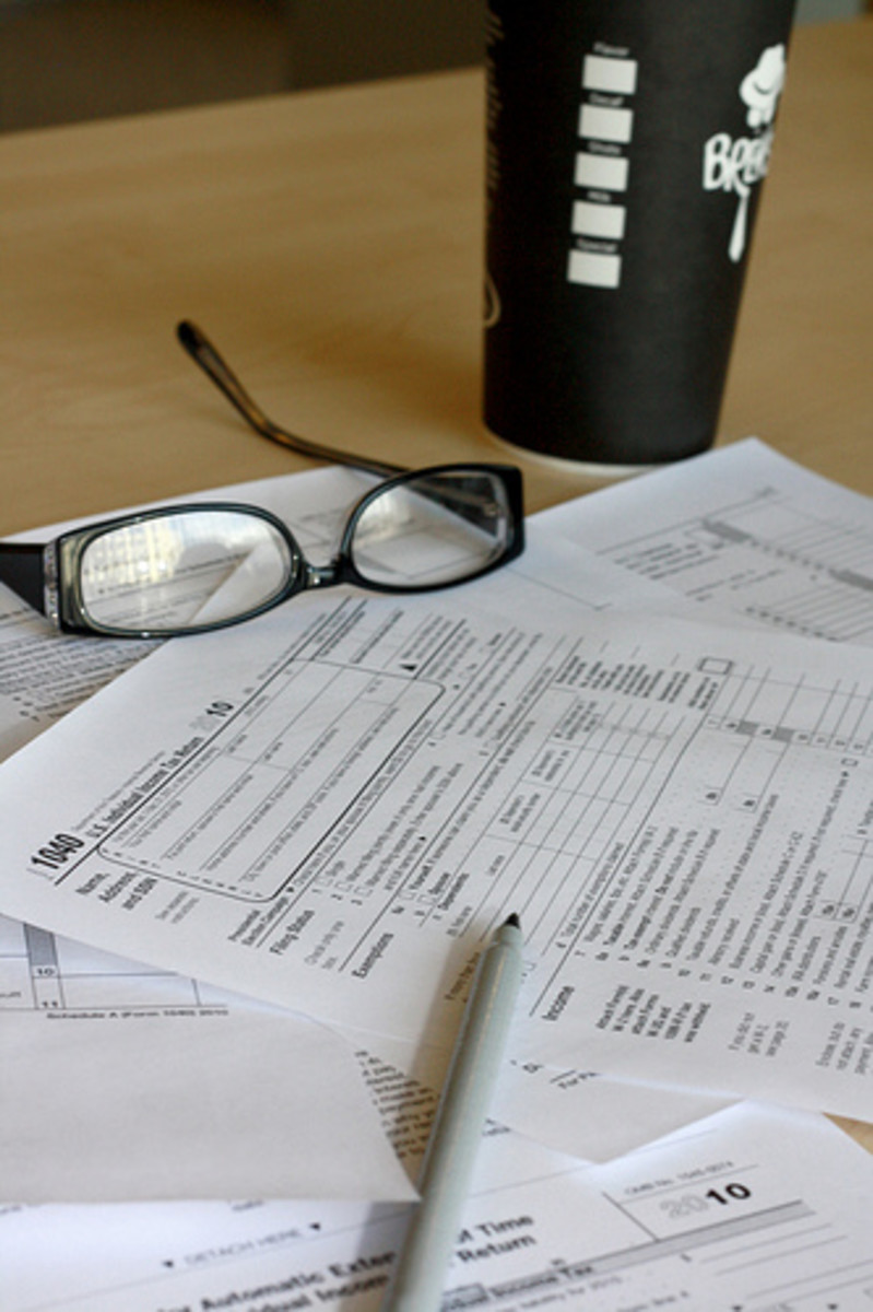 Lying on tax returns nets you guilt and fear of audit.