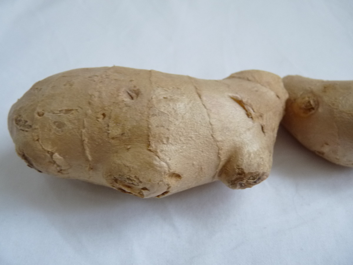 Ginger root is easy to find in most grocery stores.