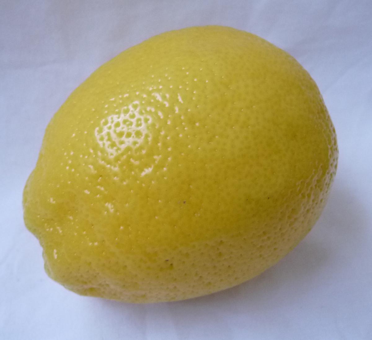 Add lemon for taste and extra Vitamin C.