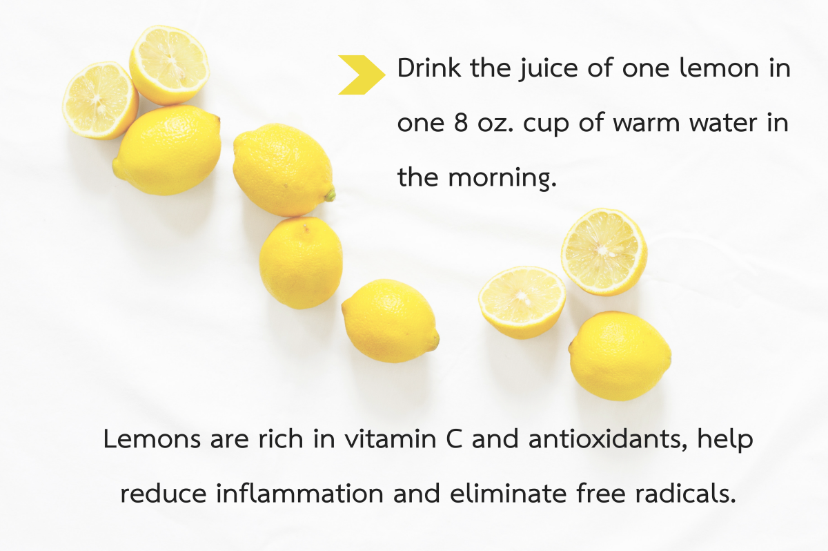 Lemons help reduce oxidative stress in the body and may aid in the reduction of high levels of GGT.