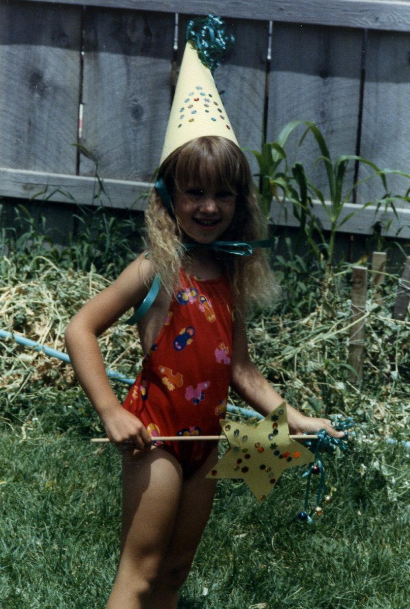 The ROCK STAR birthday girl!