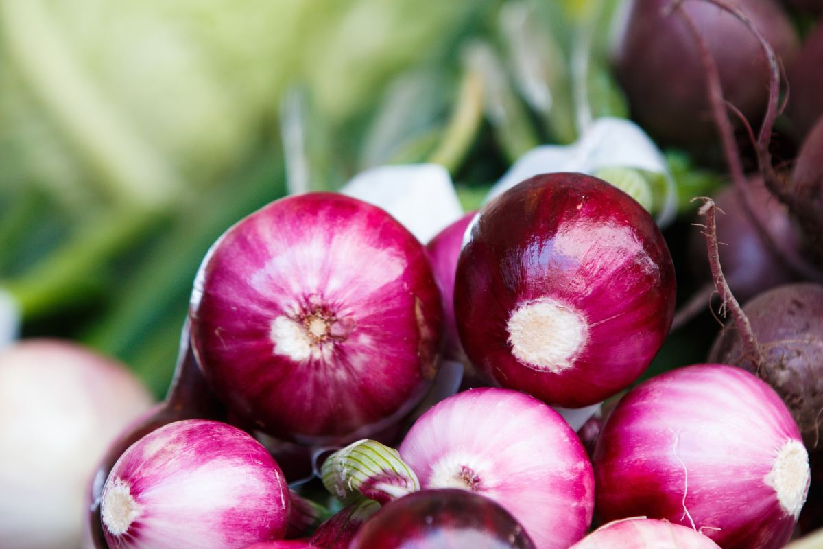 Onions have anti-inflammatory, antibiotic, and antiviral properties.