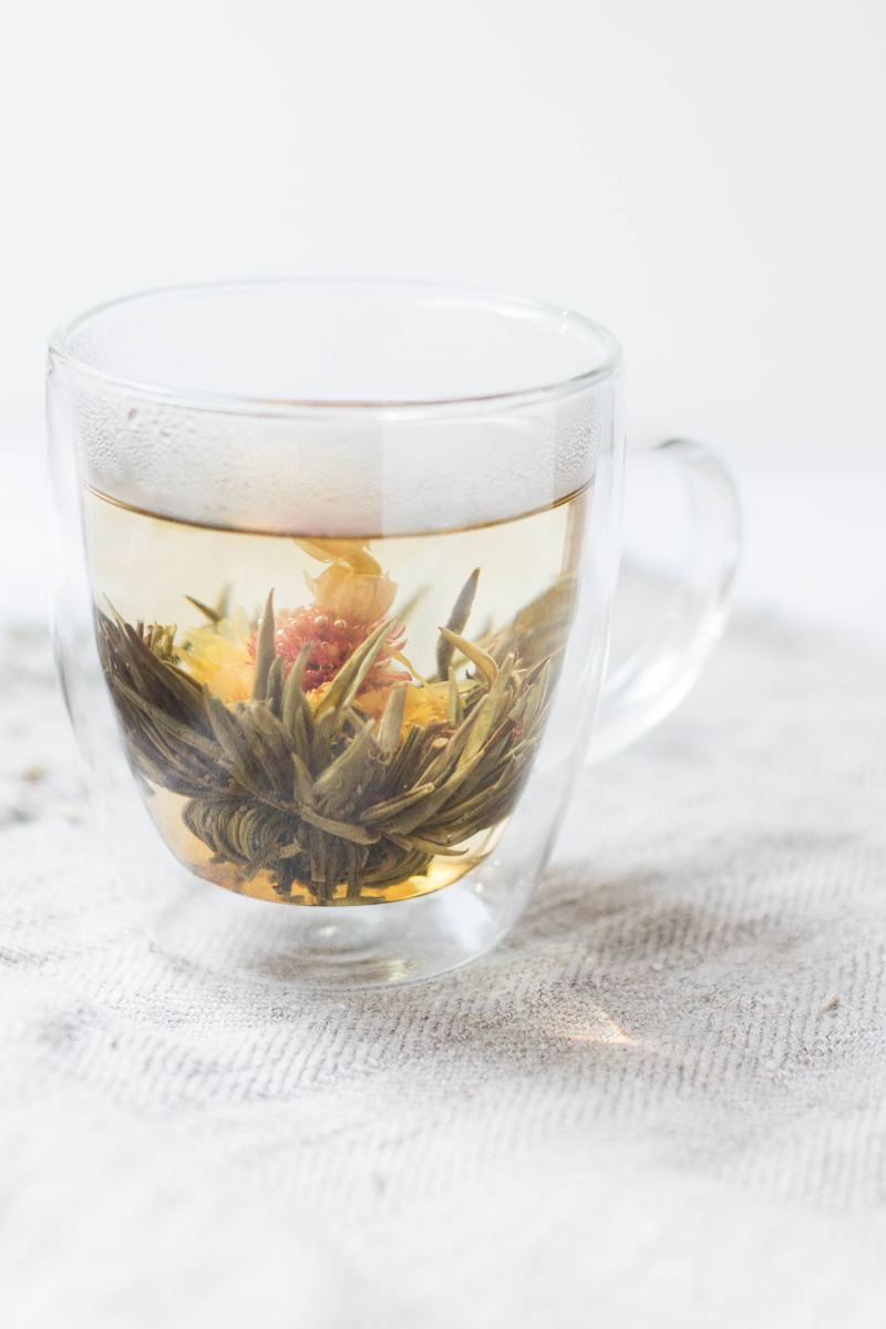 Herbal tea is a great substitute for coffee.