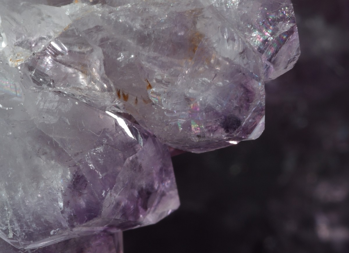 Amethyst points are great for healing purposes, and when you want to direct their points at a specific area of the body.