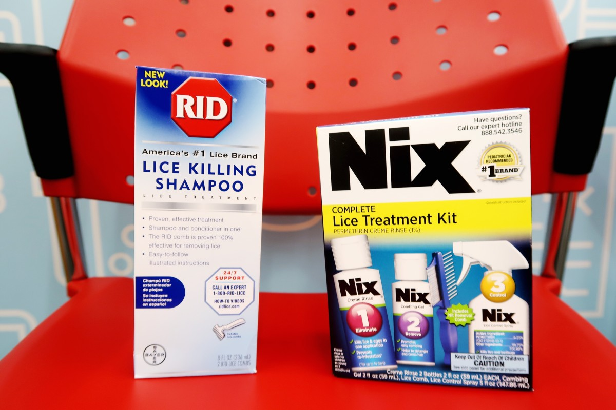 Use a commercial lice-killing treatment.