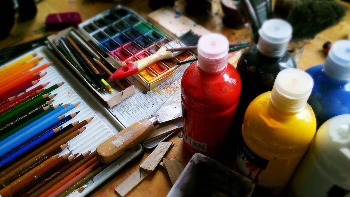 Codependents can start a new hobby or rekindle one like painting as a way to nurture themselves.